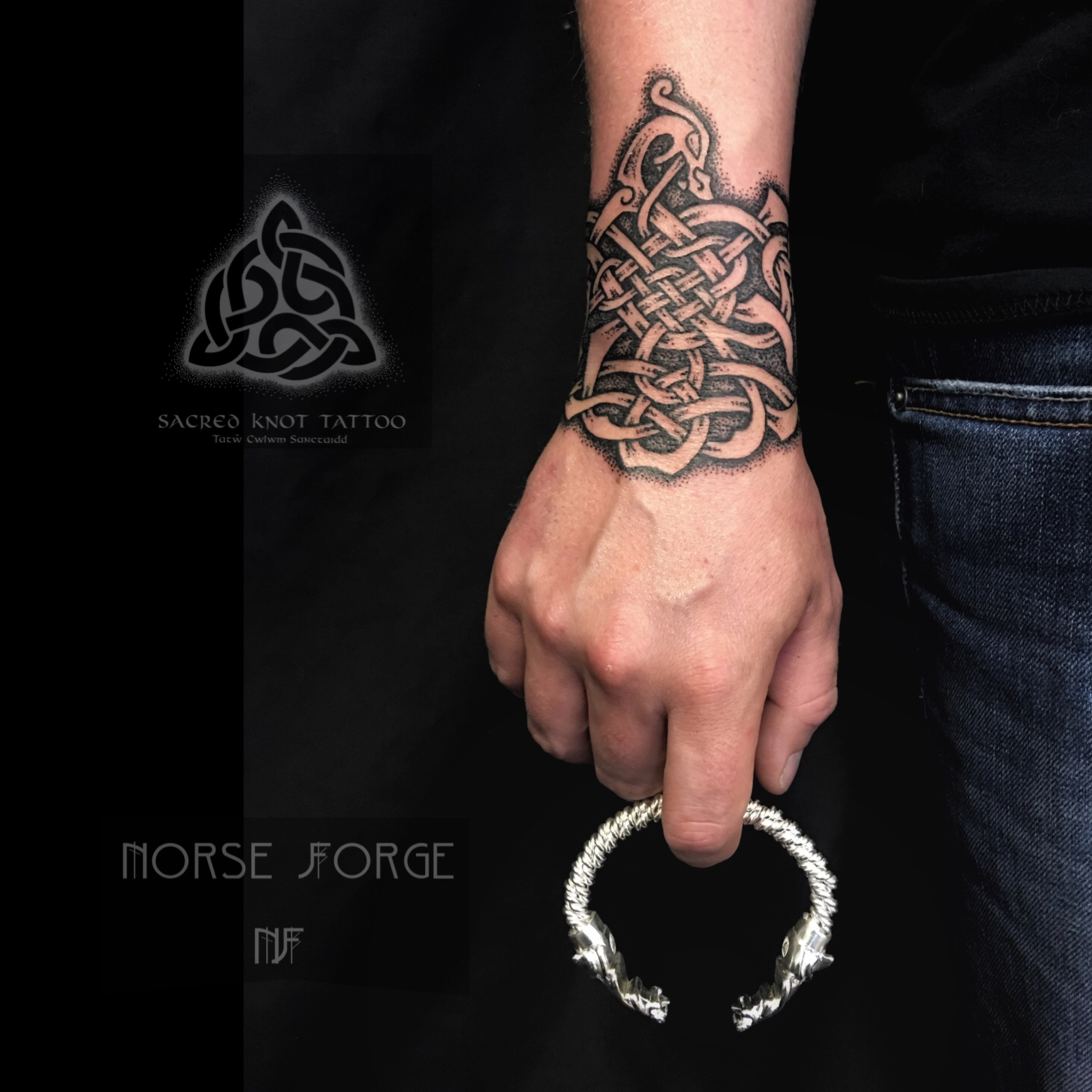 Jewellery collaboration Norse Forge