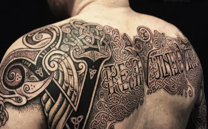 Celtic tattoo by Sean parry of sacred knot