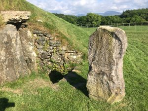 Bryn Celli Ddu celtic burial mound in anglesey