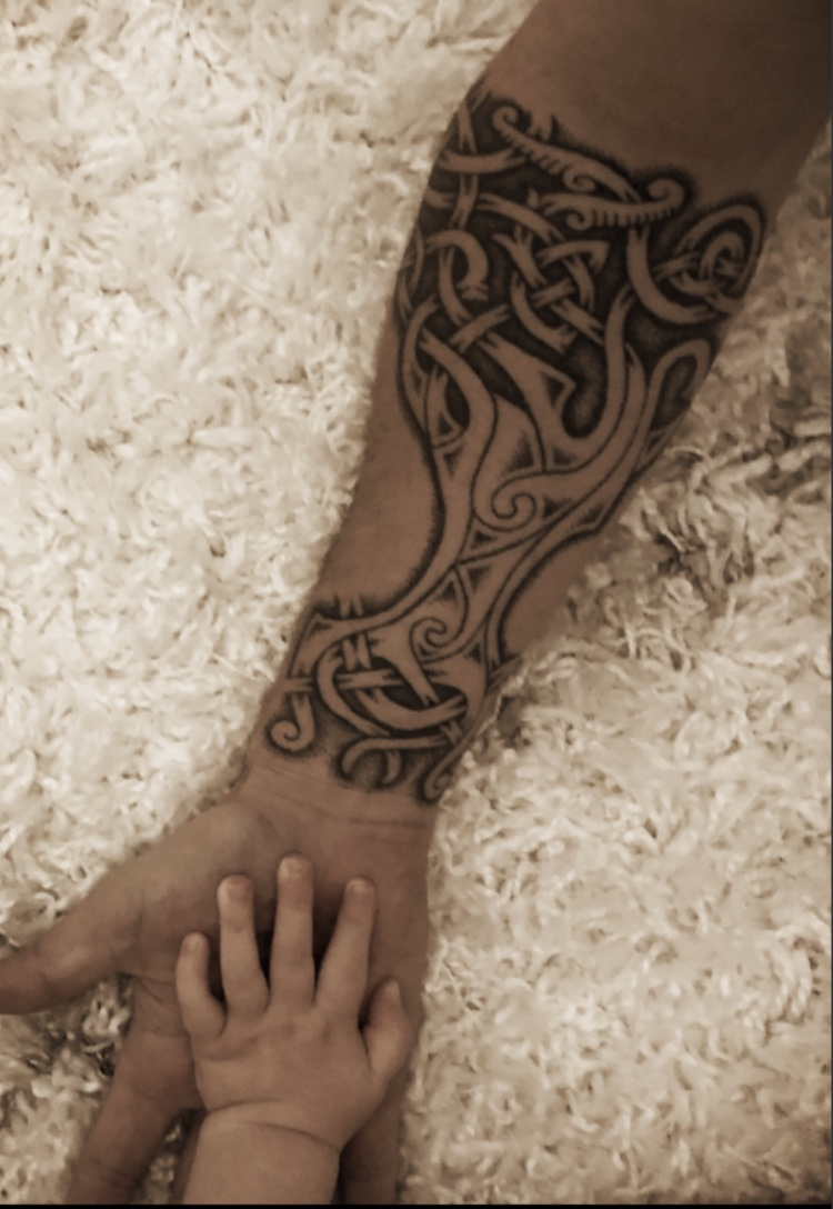 Celtic Tattoo by badger king
