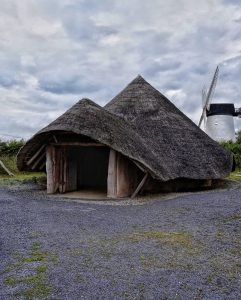 Melin Llynon irn age roundhouse, anglesey
