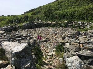 hut circle, south stack anglesey